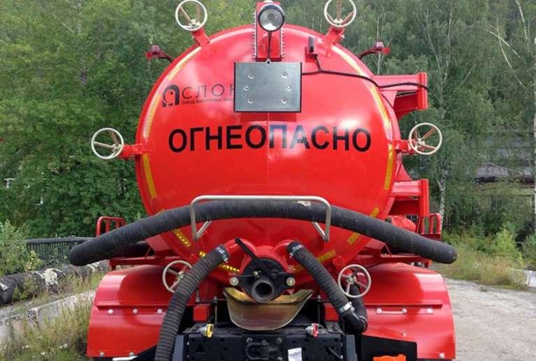 Автоцистерна АКН-10ОД на шасси КАМАЗ 65115