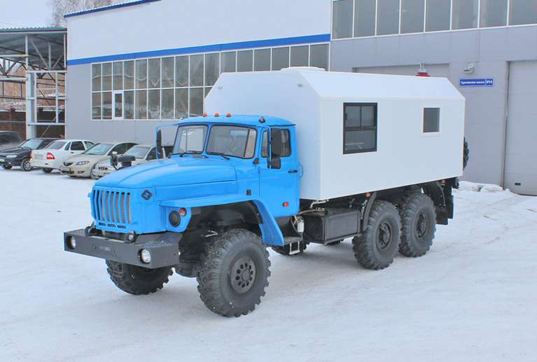ПАРМ на шасси Урал-4320