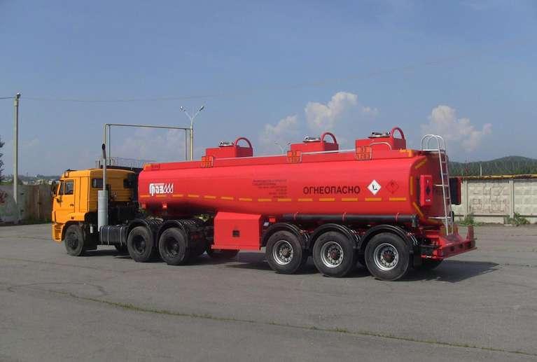 Полуприцеп-цистерна ГРАЗ 96222-02