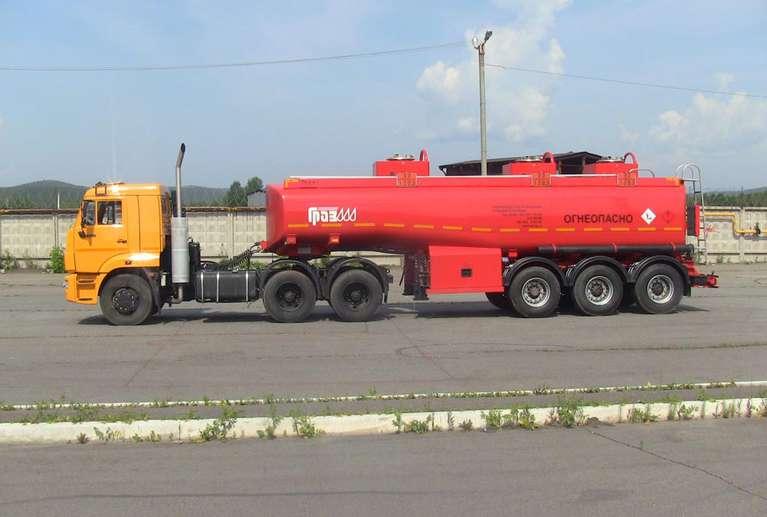 Седельный тягач Камаз 65116