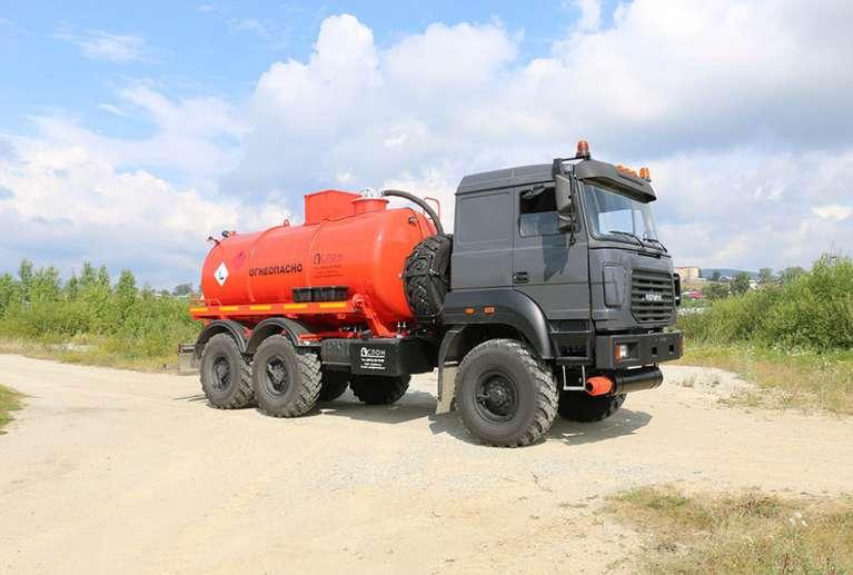 АКН-10 на шасси УРАЛ 5557-80М