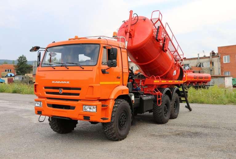 Автоцистерна АКНС-10 НА ШАССИ КАМАЗ-43118