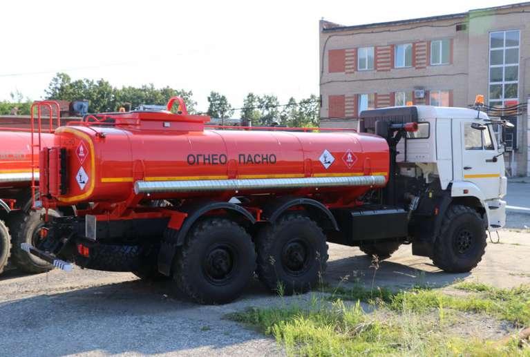 Автоцистерна АЦН-10 на шасси КАМАЗ-43118