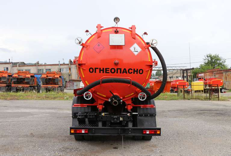 Автоцистерна АКНС-15 НА ШАССИ КАМАЗ-65111