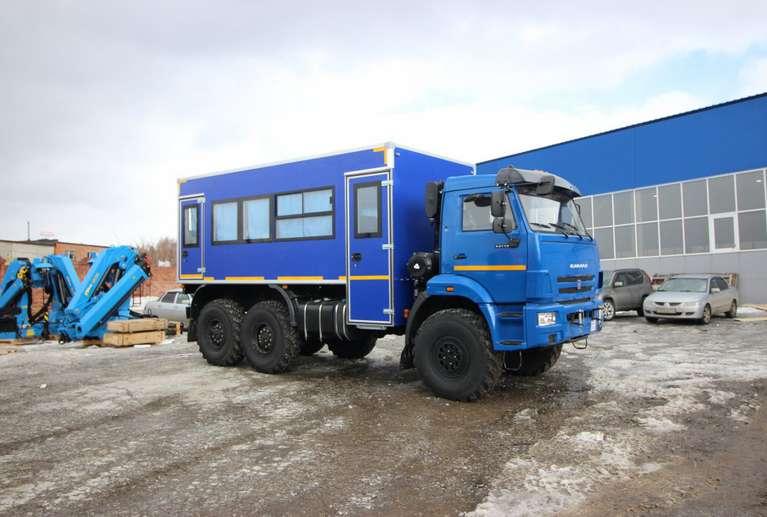 Вахтовый автобус КАМАЗ 43118-50 (без спального места) (20 мест)