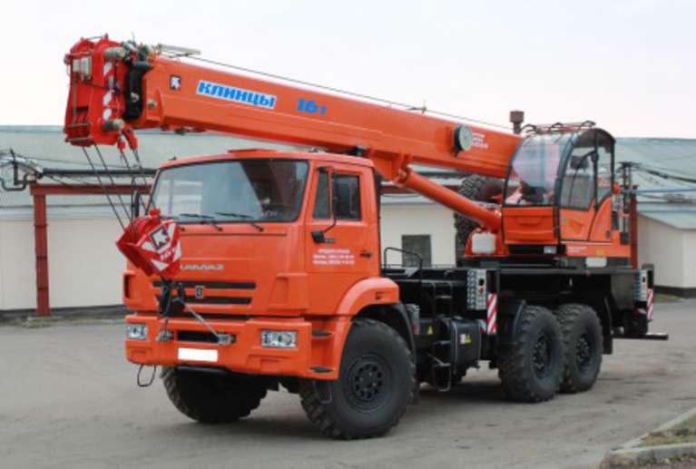 Автокран КС-45719-7К на шасси КАМАЗ 43118
