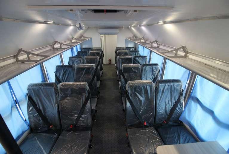 Вахтовый автобус КАМАЗ 43118-50 (22 места)_салон кузова-фургона