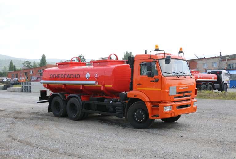 Автотопливозаправщик АТЗ-12 Камаз 65115