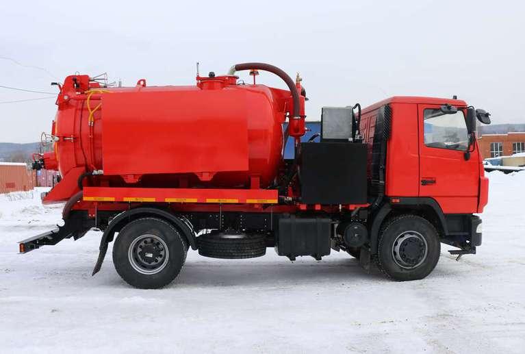 Вакуумная илососная машина МВС-9 на шасси МАЗ 534025-585-013 (насос DL-250)