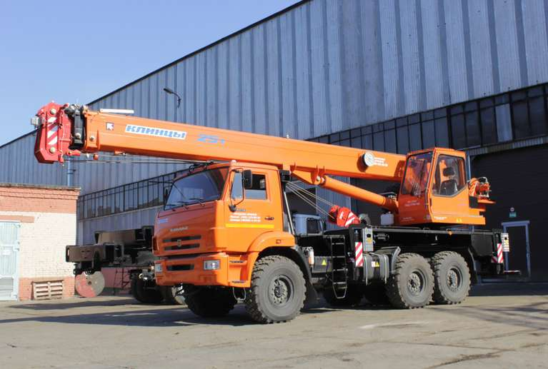 Автокран КС-55713-5К-2 на шасси КАМАЗ-43118