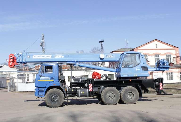 Автокран КС-55713-5К-3 на шасси КАМАЗ-43118