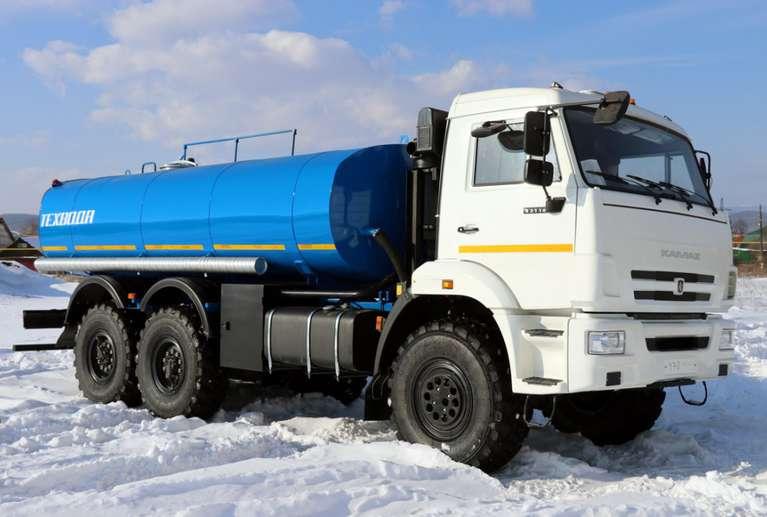 Автоцистерна АЦН-10 (техвода) ТЕРМОС на шасси КАМАЗ 43118-46