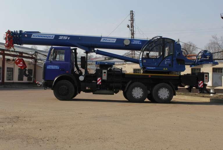 Автокран КС-55713-6К-4 на шасси МАЗ-6312В3