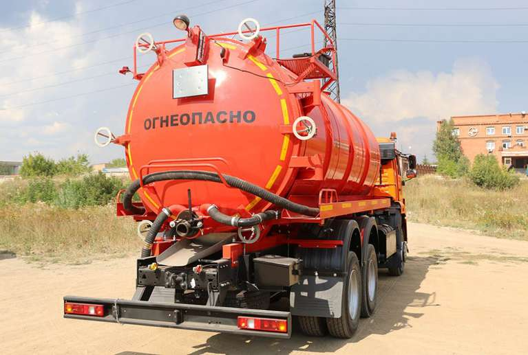 Автоцистерна АКН-17ОД НА ШАССИ КАМАЗ 65111