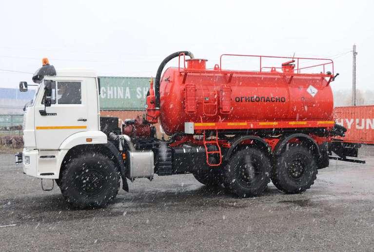 Автоцистерна АКН-10 на шасси КАМАЗ 43118-50 (без спального места)