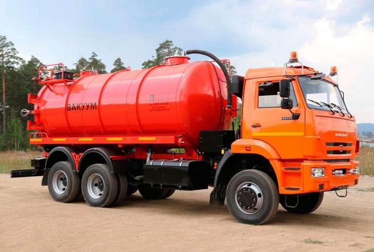 МВ-15 на шасси КАМАЗ 65115