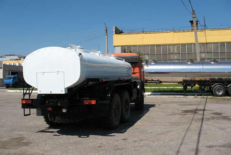 АЦПТ-8,3 на шасси КАМАЗ 43118