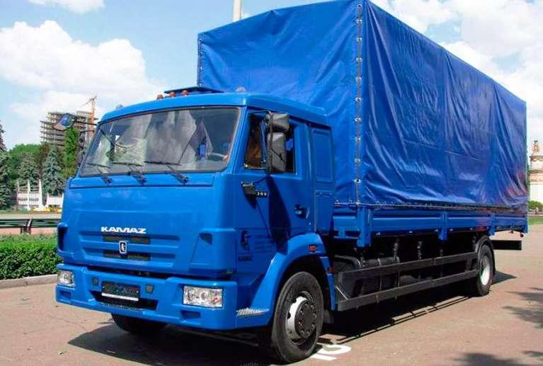 Бортовой автомобиль КАМАЗ 5350