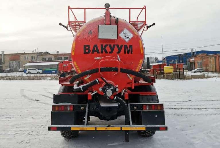 Вакуумная машина МВ-10 на шасси УРАЛ NEXT