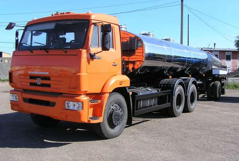 АЦПТ-13 на шасси КАМАЗ 65115