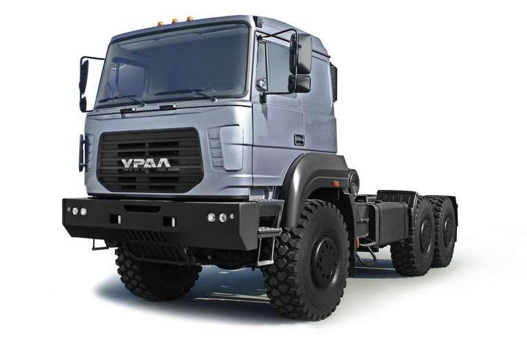 Шасси Урал 6370К (для самосвала)