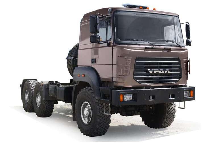 Шасси Урал Бескапотный 4320-80Е5 (длиннобазовое)
