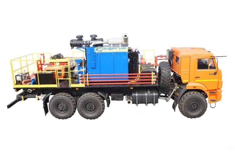 Универсальная насосная установка СИН31.64 на шасси КАМАЗ 43118-50 (для ГРП)