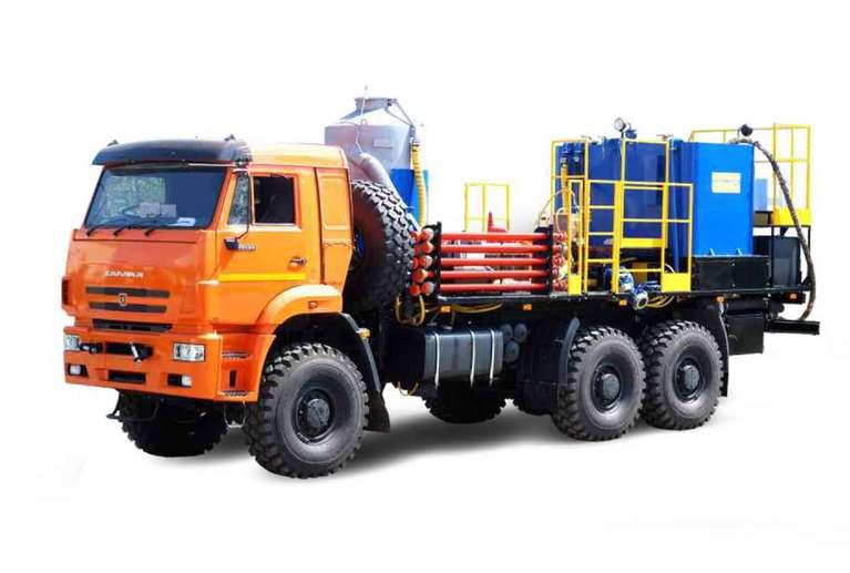 Многофункциональная насосная установка СИН35.53 на шасси МАЗ / КАМАЗ