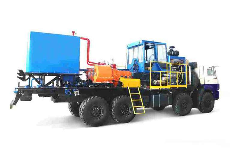 Агрегат цементировочный (СИН35.32) на шасси КАМАЗ 63501-52