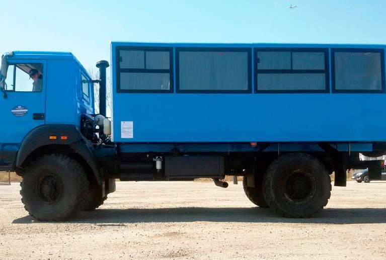 Вахтовый автобус Урал Бескапотный 32552-79Е5